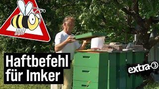 Realer Irrsinn: Haftbefehl für Imker - EXTRA3 - NDR