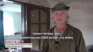 Ein Amerikaner berichtet aus der Ostukraine über Verbrechen der Kiewer Nazis
