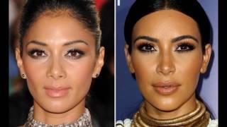 Kim Kardashian and Nicole Scherzinger same dna!