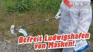 Befreit Ludwigshafen von Masken! COVID-19 Decontamination Team