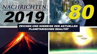 NACHRICHTEN 2019 - FAKE NEWS, MAGNETPOLE, WIRTSCHAFTSKRISE, RAUMPROGRAMM