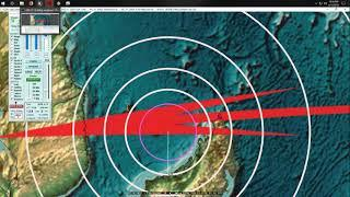 6/12/2018 -- Earthquake activity MASSIVE spread -- Multiple volcanoes erupting simultaneously