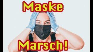 Schneller beißen gegen Corona!! Der ganz alltäglich Masken-Wahnsinn, erlebt heute im ICE der Bahn.
