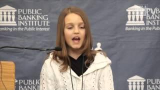 12-jährige Kanadierin erklärt das Bankensystem