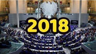 Politischer Jahresrückblick 2018