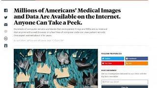 Millionen Patientendaten im Internet