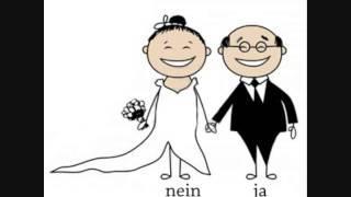 Lustig ;-)  Sind Eheschließungen in der BRD gültig ???