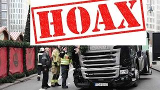 Berlin Truck Hoax - 100% Proof - Israel is Behind All Hoaxes