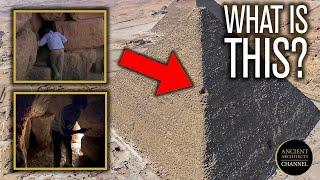 A Mysterious Cave on the Edge of the Great Pyramid of Egypt? | Ancient Architects