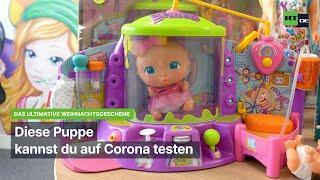 Diese Puppe kannst du auf Corona testen - Indokrination von Kleinkindern