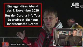Corona Info Tour und die neue innerdeutsche Grenze