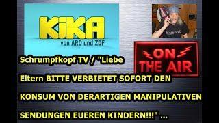 """Trailer:  Schrumpfkopf TV / """"Sofortiges Verbot vom Komsum derartiger Verblödungsmedien!"""" ..."""