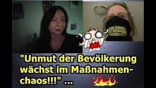 """""""Yami & ich beim Telefonieren — Unmut der Bevölkerung wächst im Maßnahmenchaos!!!"""" ..."""