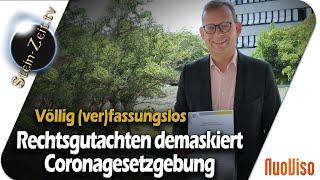 Rechtsgutachten demaskiert Coronagesetzgebung - Andreas Beutel im Gespräch mit Robert Stein