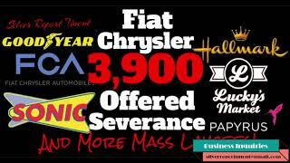 Mass Layoffs and Store Closures 2020 Fiat Chrysler, Hallmark, Goodyear, Sonic, Lucky's Market, Pa