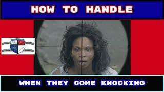 How to Handle Non Preppers When They Coming Knocking after SHTF