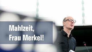 Mahlzeit, Frau Merkel! Martin Sonneborn hält Rede