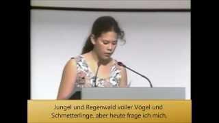 Rede der Kinder zur UN Klimakonferenz 1992 in Rio de Janeiro mit deutschem Untertitel *korrigiert*