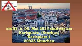 Dreiländer-Demo gegen Behördenwillkür, Kindesentzug 01.-03. Mai 2015 München