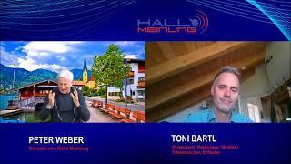Gespräch zwischen Peter Weber und Toni Bartl