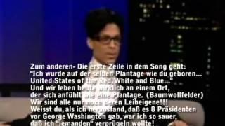 Prince spricht über Chemtrails (deutsche Untertitel)