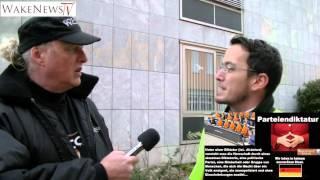 Das System lässt die Maske fallen - Unterdrückung freier Meinungsäusserung Weil am am Rhein
