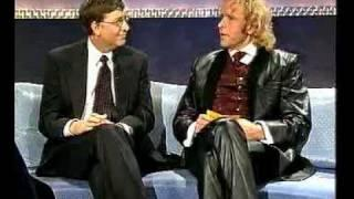 Bill Gates - damals als Gast bei Thomas Gottschalk in WETTEN DASS