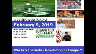 War in Venezuela - Revolution in Europe? United We Start Roundtable Discussion February 9, 2019