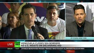 Media blackout of economic siege of Venezuela