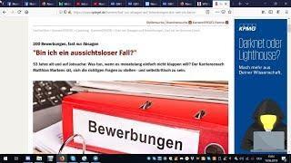 """Trailer: Martin zum Spiegelartikel vom 19.06.2019 """"53 Jahre alt und auf Jobsuche"""""""
