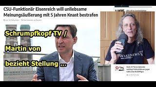 Trailer: Schrumpfkopf TV / Bis zu 5 Jahre Haft für unliebsame Meinungsäußerungen ...