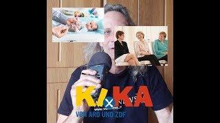 Schrumpfkopf TV / Kika (Logo) zur Mondlandung, zu Merkel, Leyen, AKK, Impfen, usw. ...