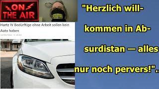 """""""Herzlich willkommen im Hartz 4 Absurdistan — alles nur noch pervers!""""..."""
