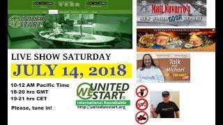 What Is Currently Happening In The World? UWS Roundtable Discussion LIVE 20180714