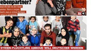 3 Frauen und 13 Kinder   Abboud will Deutscher werden!