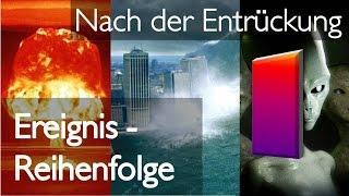 1. JESUS SPRICHT über das was kommt NACH DER ENTRÜCKUNG... Die REIHENFOLGE der EREIGNISSE
