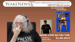 """""""Das Leben der Aufklärer"""" Detlev bei """"Der heisse Hocker"""" Interview Oki-Talk 01.06.2015"""