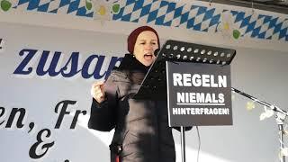 Hexenjagd 2.0 - #Demo Solidarität für #Rolf #Kron #FFB #Fürstenfeldbruck 15.01.21