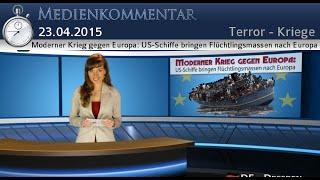 Moderner Krieg gegen Europa: US-Schiffe bringen Flüchtlingsmassen nach Europa | 23.05.15 | kla.tv