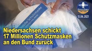 Niedersachsen schickt 17 Millionen Schutzmasken an den Bund zurück