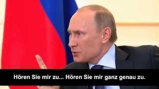 Putin will die Ukrainer schützen vor Beschuss der eigenen ukrainischen Armee