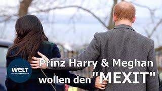 Harry und Meghan wollen eigene Wege gehen