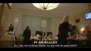 Undercover Journalist in Full Burka Is Offered Huma Abedin's Ballot