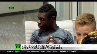 Cop pulls gun on disabled 10-year-old