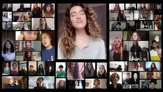 Gänsehaut garantiert - Chor singt zusammen per Konferenzschaltung -HELPLESSLY HOPING - il coro che n