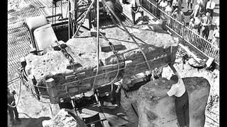 Stonehenge Under Construction 1954