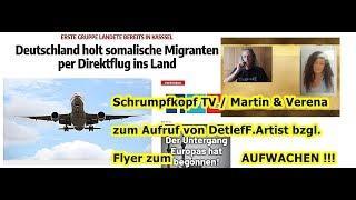 Trailer: Schrumpfkopf TV / Martin von & Verena zur Flyer-Aktion von DetlefF.Artist (Part 2) ...