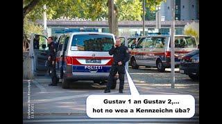 11.9.2021: POLIZEIAUTOS OHNE KENNZEICHEN bei der MEGA DEMO WIEN
