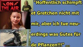 """""""Hoffentlich schimpft et Gretchen nicht mit mir, aber ich wat richtig Gutes für die Pflanzen!!!"""" ."""