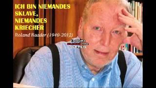 Roland Baader, ein kritischer Denker  - Komplettes Interview
